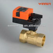 G/BSP 0-10v/4-20ma HVAC controls products electric ball valve