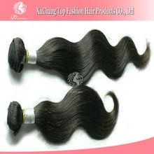 Natural looking human hair ponytail hair extension for black women