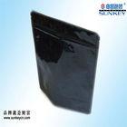 black doy pack zip lock bag