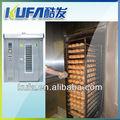 equipo de la panadería horno industrial