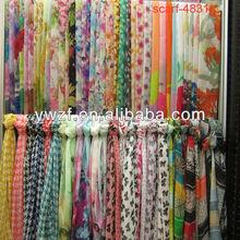korean batik silk scarf pattern