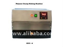 Rubber Stamp Making Machine from liquid polymer