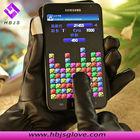 magic black finger touch screen gloves