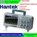 hantek mso5102d lcd memoria profunda 100 anchos de banda mhz osciloscopio de almacenamiento digital