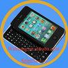 Black Ultra-slim Slide Wireless Keyboard for Iphone 4 /4s