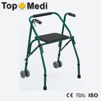 FS914L TOPMEDI WALKING AIDS SERIES Green Powder Coating Color Walking Aids crutches colored