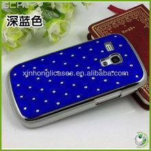 Chrome Design Luxury Bling Diamond Case Cover For Samsung Galaxy S3 Mini i8190