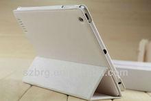 New 3 folds elastic smart PU leather case for iPad 4 3 2