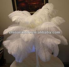 Artificial Ostrich feathers wedding centerpiece