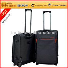 high quality nylon oxford decent soft trolley luggage