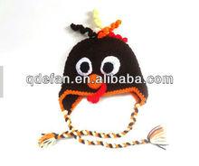 2013 New Handmade Crochet Turkey Hat Thanksgiving Gift for Baby and Children