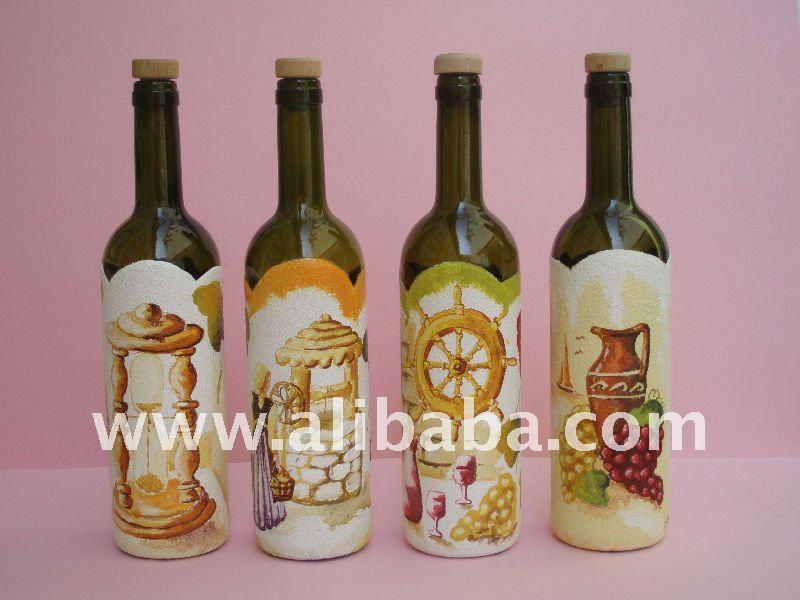 Pintados botellas