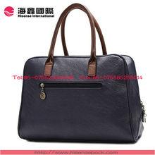 loyal convenient leather shopping/beach bag