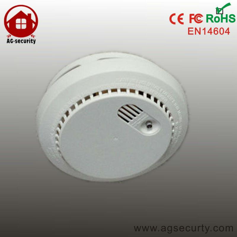 photoelectric wireless smoke detector for fire alarm sensor gsm home security. Black Bedroom Furniture Sets. Home Design Ideas
