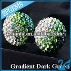 cheap gradient shamballa beads wholesale