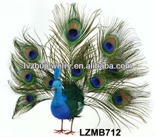 Wedding decorative birds feather peacock bird LZMB712