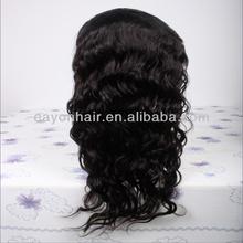 Hot beauty virgin brazilian hair full lace wig