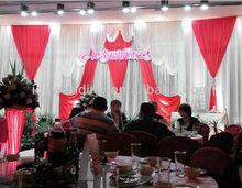 IDA elegent and high quality backdrop bead curtain wedding decoration