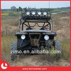 Motorized passenger vehicle