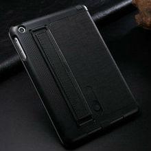 fashion leather notebook case for ipad mini