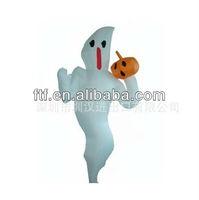 Halloween inflatable ghost pumpkin