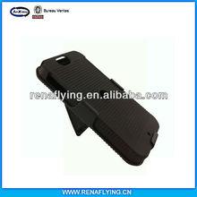 black rubberized funda clip xt626 case for motorola iron rock