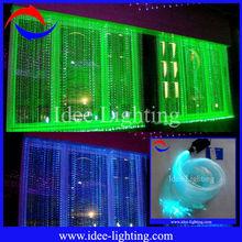2013 new modern colorful DIY fiber optic LED curtain