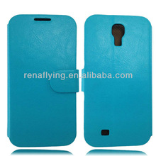 High quality flip cover case for samsung galaxy s4 i9500
