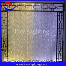 2013 new modern colorful DIY fiber optic LED string curtain