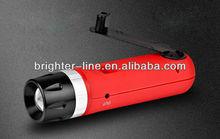 1 led mini dynamo generator flashlight recharge mobile phone
