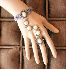 MYLOVE women friendship bracelets pearl bridal accessory wholesale MLMTB107
