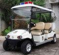 عربة الغولف الكهربائية ac نظام بسيطنوعية جيدة 4 مقاعد العربة سيارة دورية للشرطة