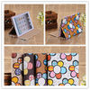 Colorful flowers pu case for ipad mini,tablet case for ipad mini