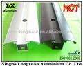 anodizado blanco y negro de aluminio anodizado de perfiles de extrusión