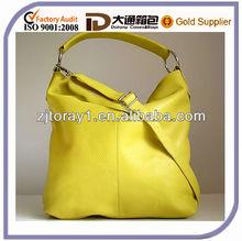 Lady Unique Soft Leather Hobo Handbag