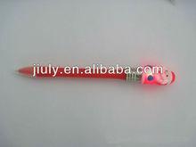 Light up santa pen