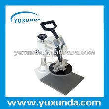 Hot press digital plate printing machine