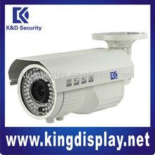 High resolution 600tvl and 700tvl CMOS weatherproof IR bullet Camera outdoor use 35m IR distance varifocal 4-9mm lens