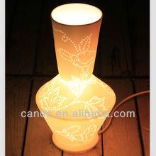 Unique Pattern Porcelain Vase Indoor Lamp