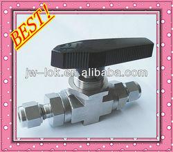 high pressure long stem ball valve , mini ball valve