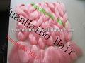 Expressão cabelo fio sintético fibra kanekalon cor de rosa