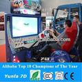 la lucha contra 4d simulador de poner en juego arcade de centro de la máquina funciona con monedas de juego