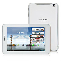 Ampe A79 Quad Core 3G GPS Tablet PC 7 Inch MSM8625Q Android 4.1 IPS Screen 4GB Bluetooth White