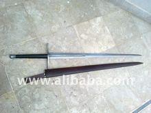 Stunning Damascus Steel Practitioner Fantasy Sword Sharpened