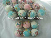 2014 Cheapest printing christmas ball,plastic christmas ball moon and star shaped christmas decoration