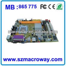 Valuable 478 Socket DDR1 Motherboard 865 for computers