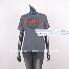 Japan Style Regulation T-Shirts Cotton 1300 1800