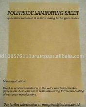 0.25mm x 1000mm Low/High Voltage Class B Flexible Laminate Winding Electrical Insulation Fiberglass Sheet
