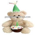 yumuşak peluş şarkı dans müzik doğum ayıcık hayvan oyuncak çocuk çocuklar tercih hediye