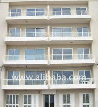 balcony stainless steel railing design